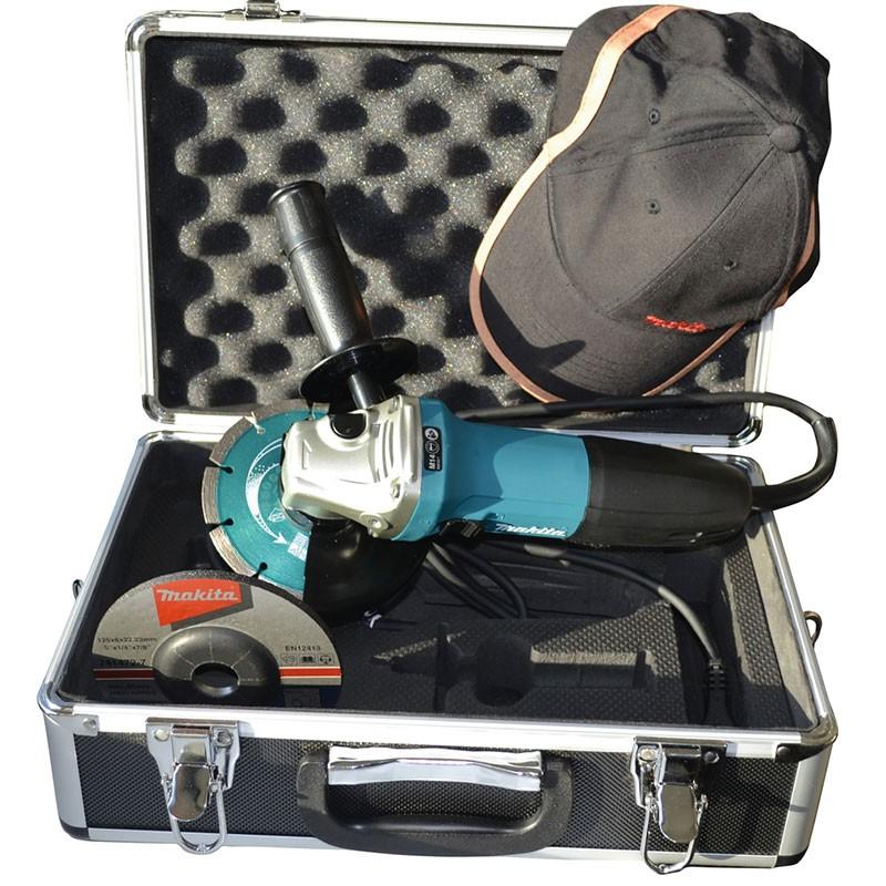 Makita Winkelschleifer GA5030RSP1 720 Watt 125 mm