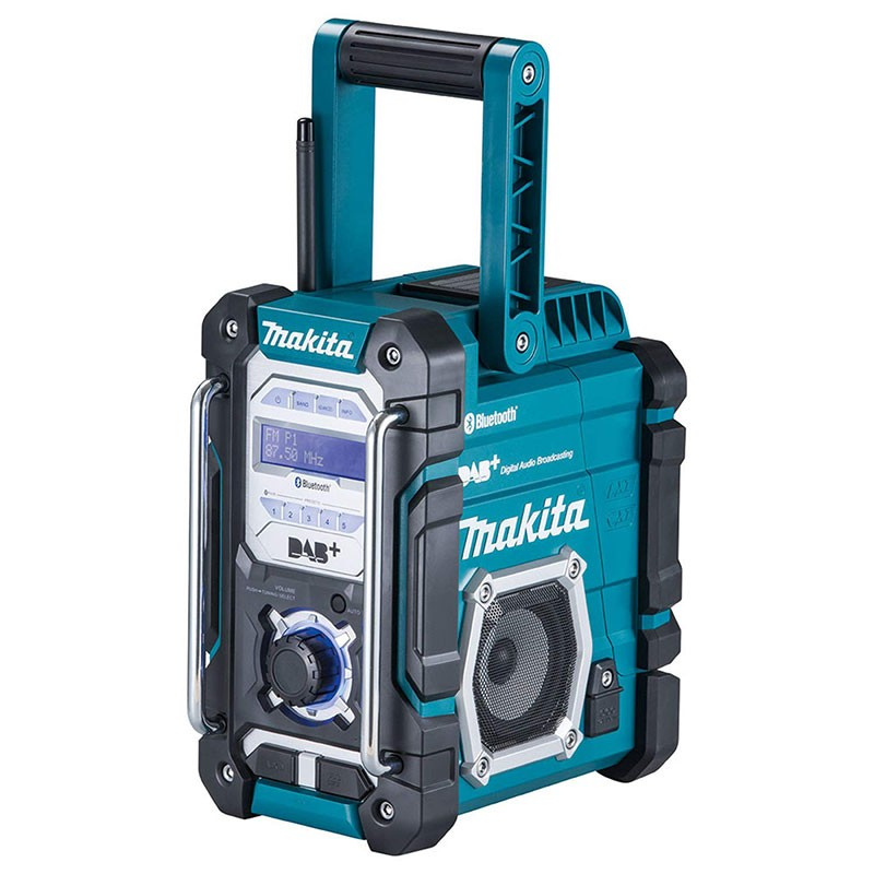 Makita Akku Baustellenradio DMR 112 mit Bluetooth DAB+