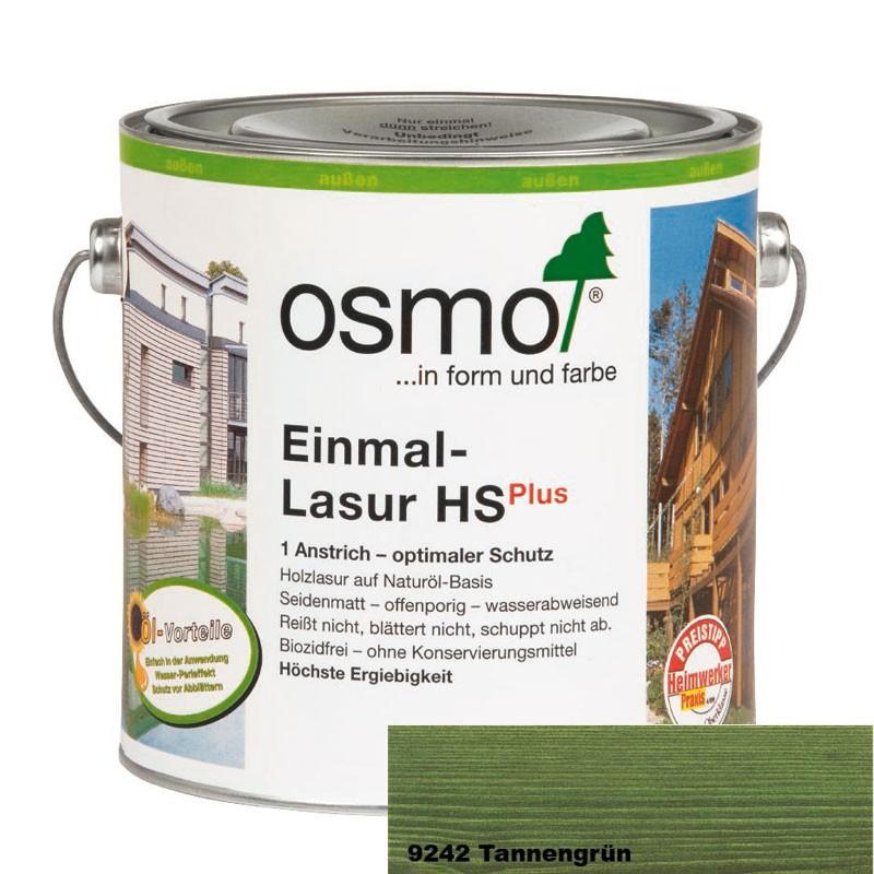 Osmo Einmal-Lasur HS plus 2,5 ltr. verschiedene Farbtöne