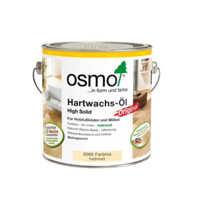 Osmo Hartwachsöl halbmatt 2,5 ltr.
