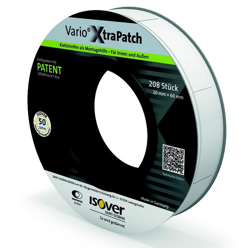 Isover Vario XtraPatch Klettstreifen 20 x 60 mm Rolle a 208 Stück