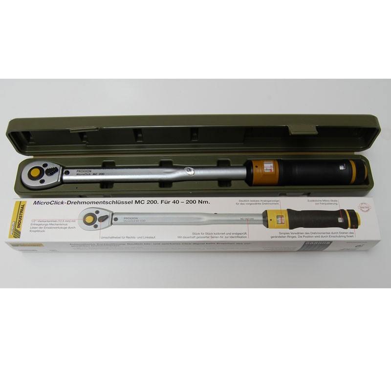 Proxxon Drehmomentschlüssel MicroClick MC 200 NR. 23353