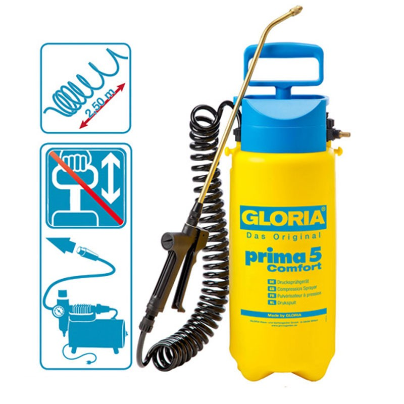 Gloria Drucksprühgerät PRIMA 5 Prima 5 Comfort