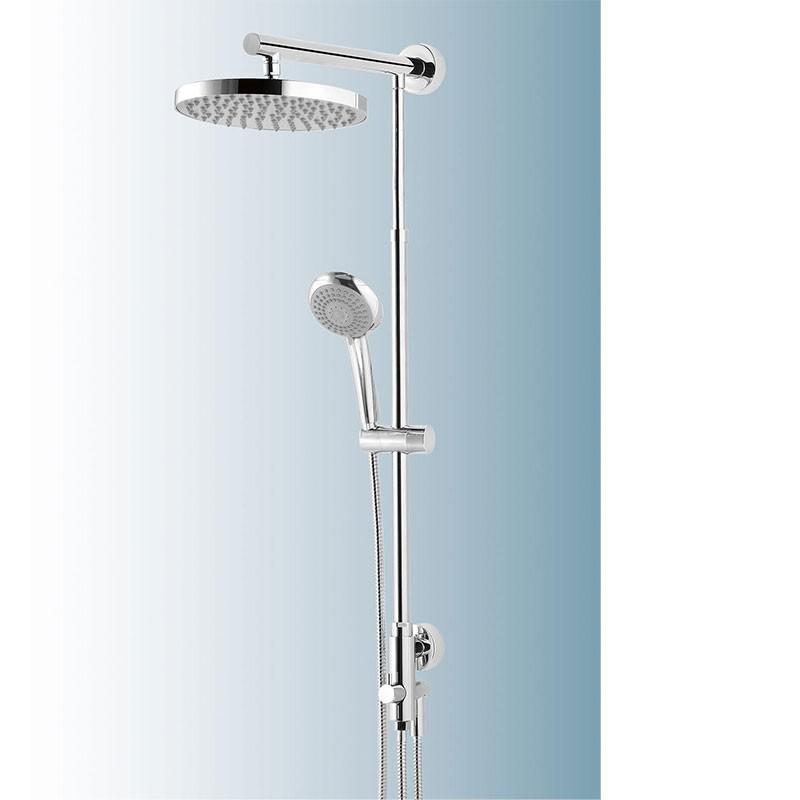 Schulte DuschMaster Rain mit Umsteller Kopfbrause rund Nr. D9630