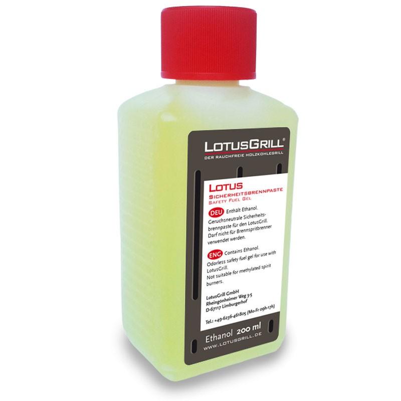 LotusGrill Brennpaste 200 ml aus Bio-Ethanol