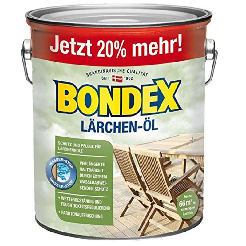 Bondex Lärchen-Öl 3,0 ltr.