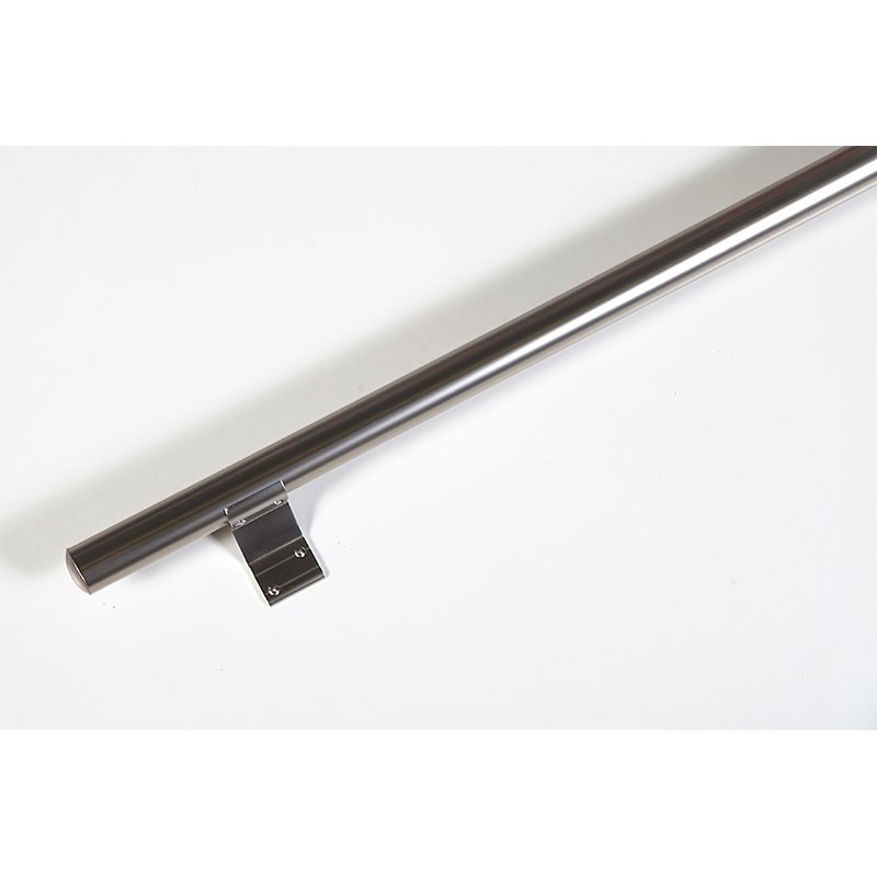 Dieda Handlaufset Alu Kompakt elox. 1200 x 40 mm