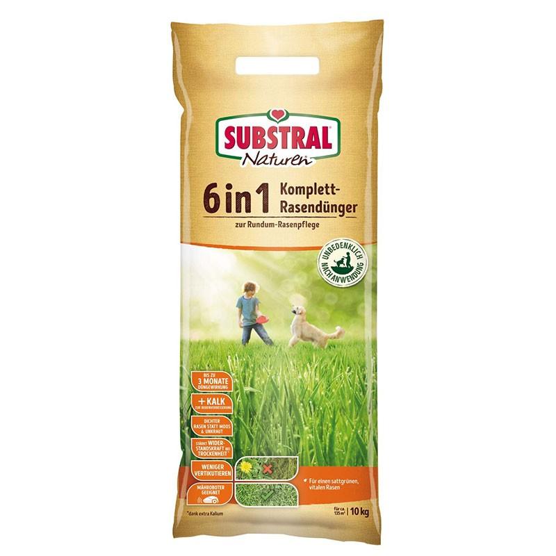 Substral Naturen Komplettrasendünger 6in1 10,0 kg