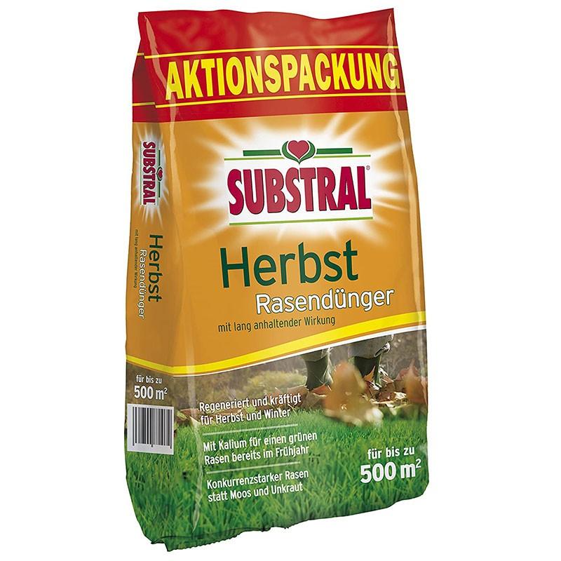Substral Herbst Rasendünger 12,5 kg für bis zu 500 m2