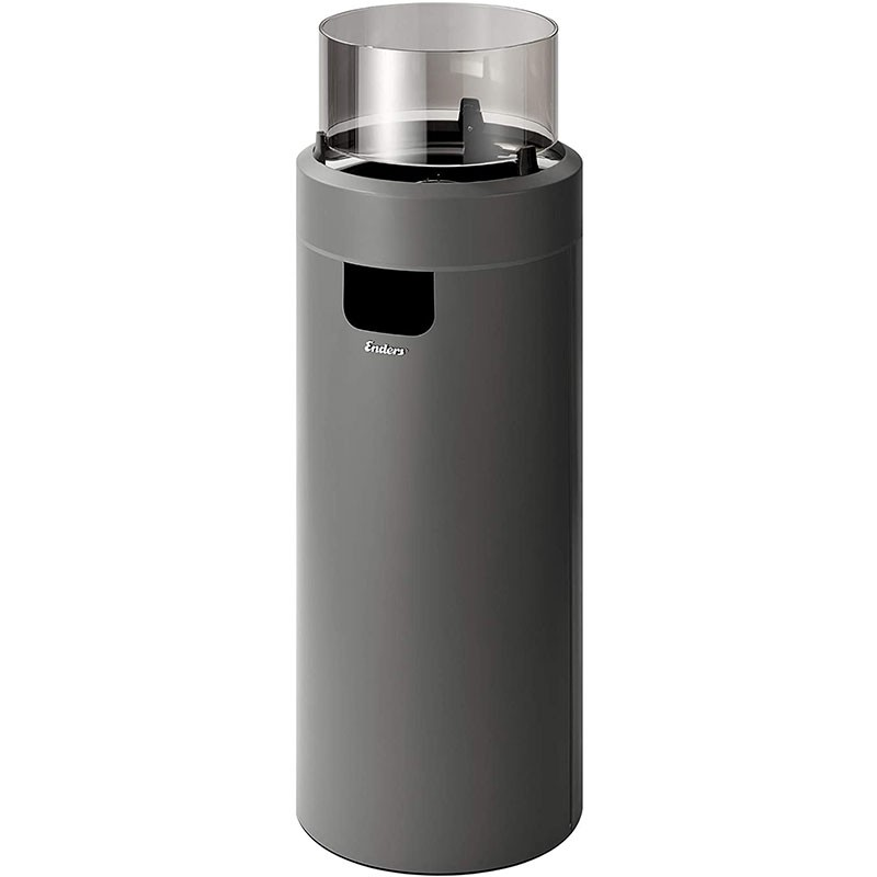 Enders Terrassenfeuer Nova LED Gr. L Grey 2,5 kW Ambiente-Licht und Flamme
