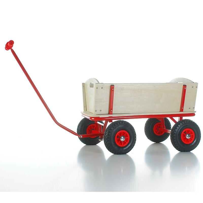 Bollerwagen Bubi aus Holz