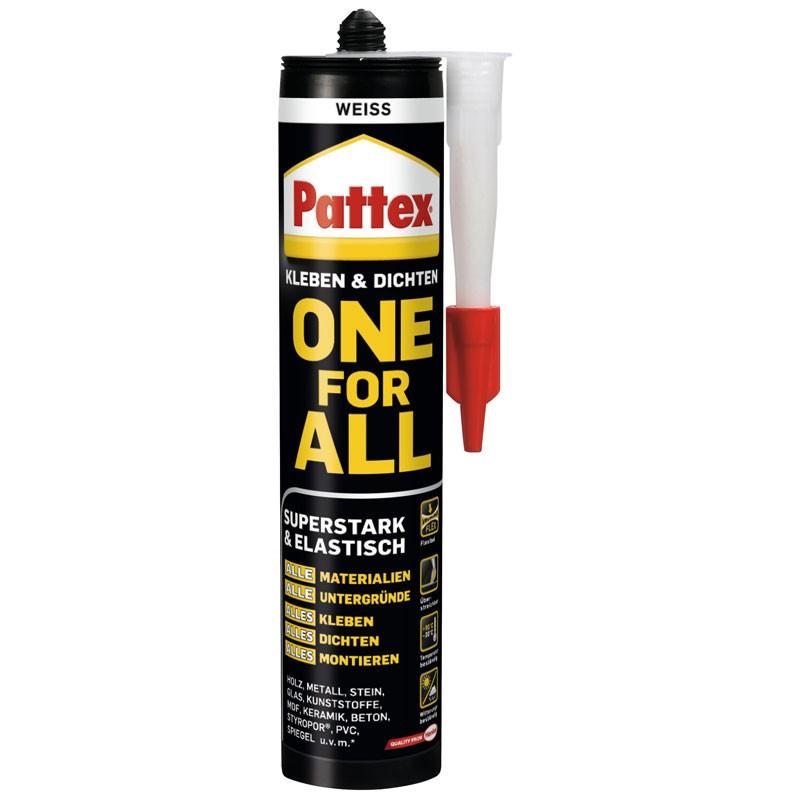 PATTEX Montagekleber One for all 420 gr. weiss