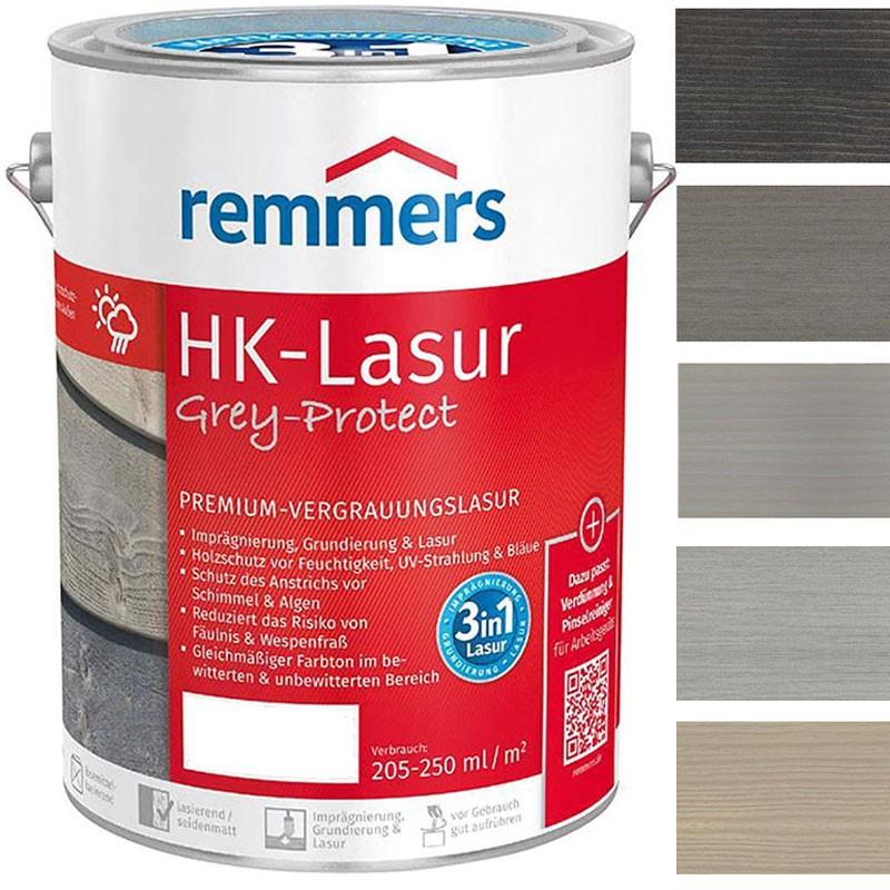 Remmers HK Lasur Grey-Protect 5,0 ltr.