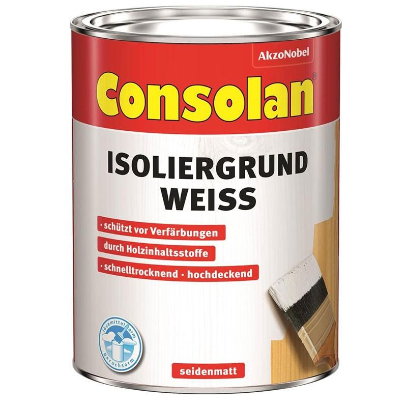 Consolan Isoliergrund Weiss 0,75 Ltr.