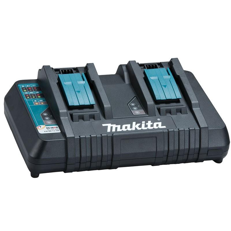 Makita Doppel - Ladegerät DC18RD 7,2 - 18 Volt