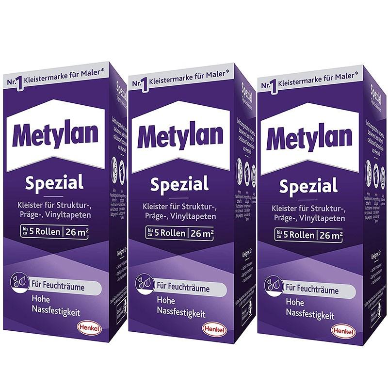 Metylan Spezial Tapetenkleister 3 x 200 g