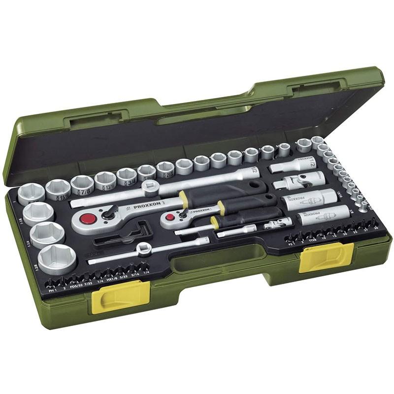 Proxxon Steckschlüsselsatz, 65-teilig